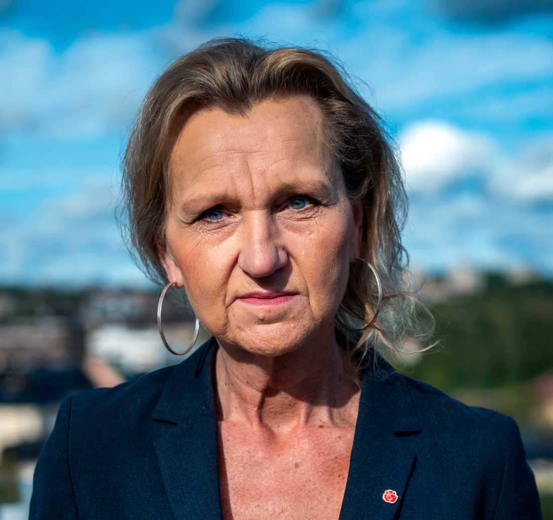 """Kommunalrådet Boel Godner använder aldrig begreppet klaner. """"Jag skulle aldrig dra alla över en kam"""", säger hon."""