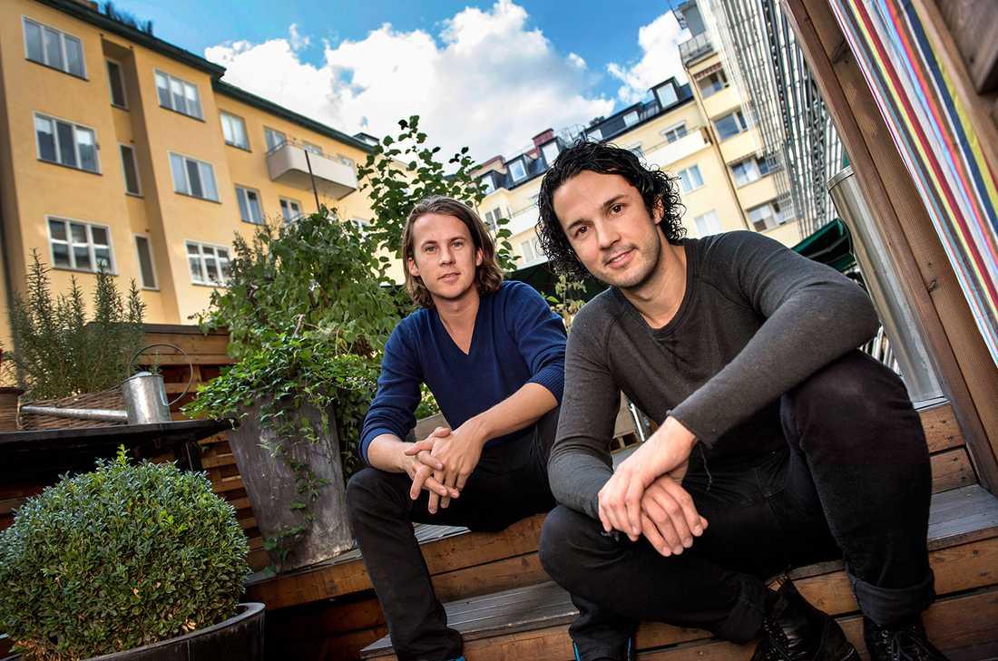 Bröderna bakom Ylvis: Bård Ylvisåker och Vegard Ylvisåker.