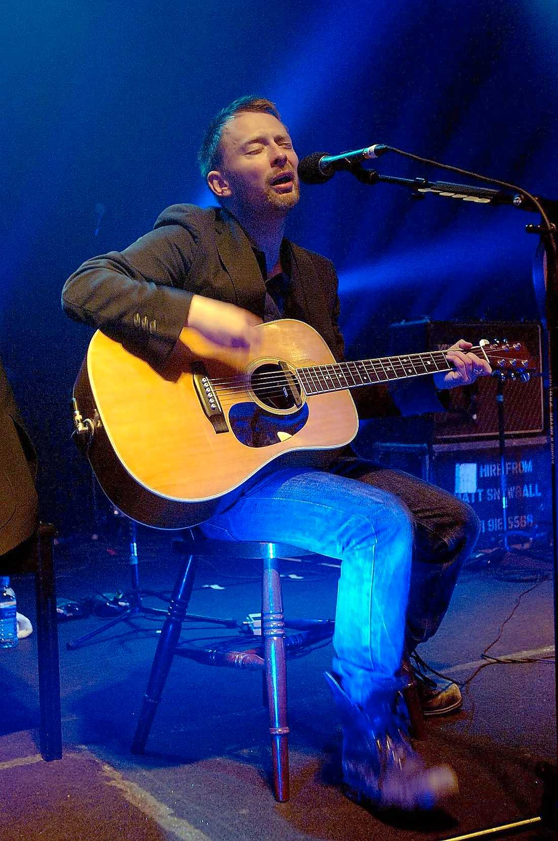 Thom Yorke i Radiohead.
