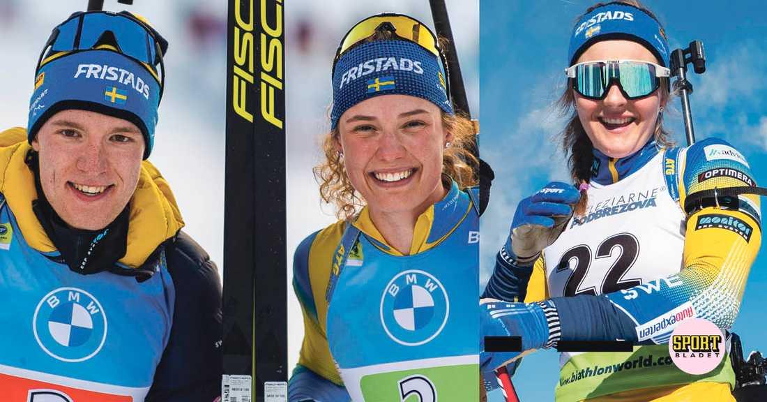 Sebastian Samuelsson, Hanna Öberg och Stina Nilsson tävlar i världscupfinalen i skidskytte i Östersund 19–21 mars.