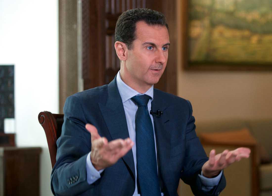 Syriens president Bashar al-Assad.