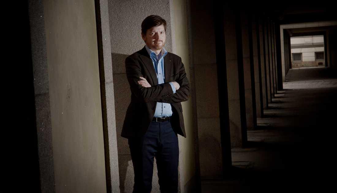 Centerpartisten Martin Ådahl är en av hjärnorna bakom idén att privatisera Arbetsförmedlingen.
