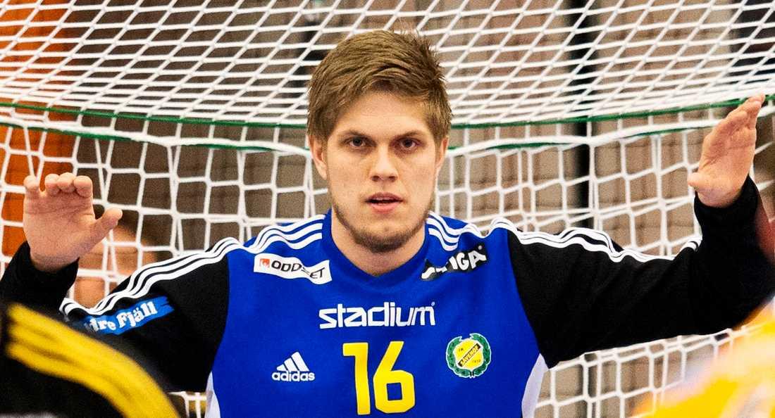 Handbollsmålvakten Peter Johannesson kallas in till landskamper. Arkivbild.