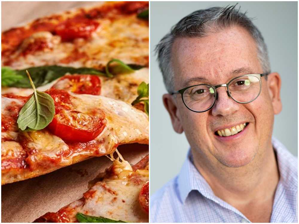 Richard Tellström säger att pizzans framgång bygger på igenkänning och tröst.