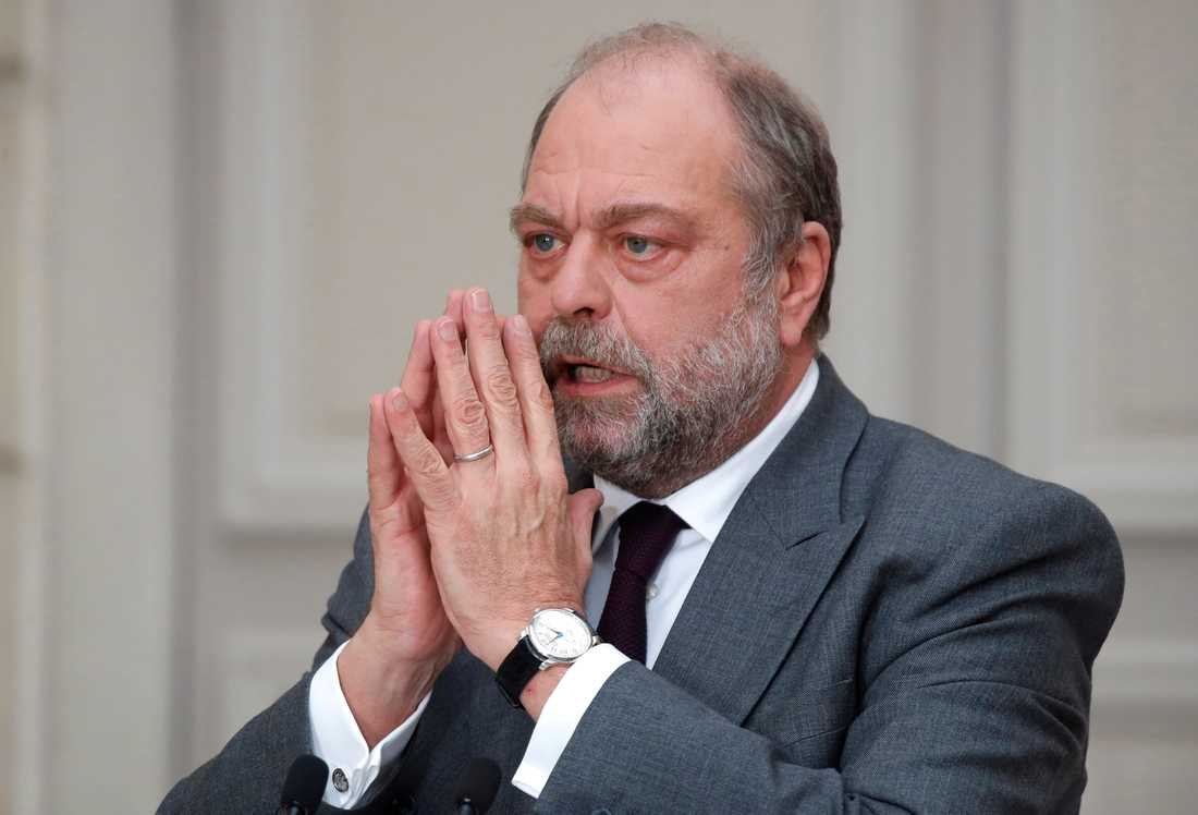 Frankrikes justitieminister Éric Dupond-Moretti. Arkivbild.