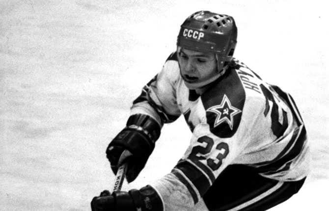 Vladimir Krutov. Bilden är från 1981.