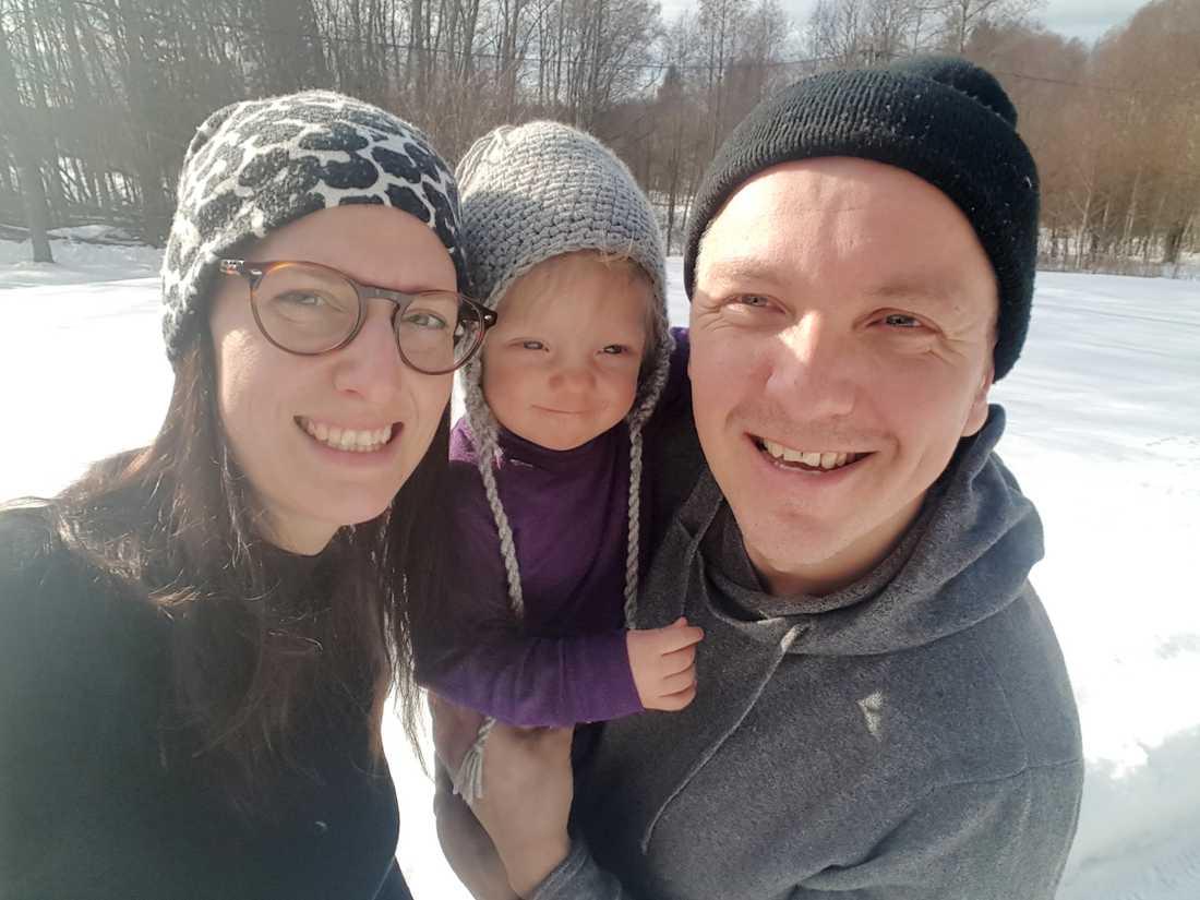 Malin, Elly och Magnus Westman.
