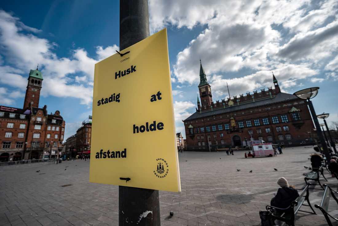 Rådhusplatsen i Köpenhamn lär bli lite mer folkfylld från nästa vecka. Bild från mars.