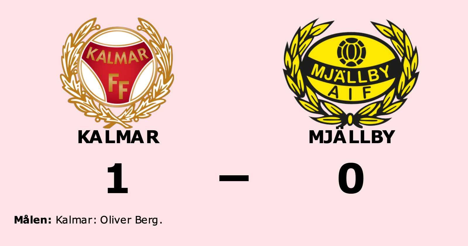 Fortsatt tungt för Mjällby efter förlust mot Kalmar
