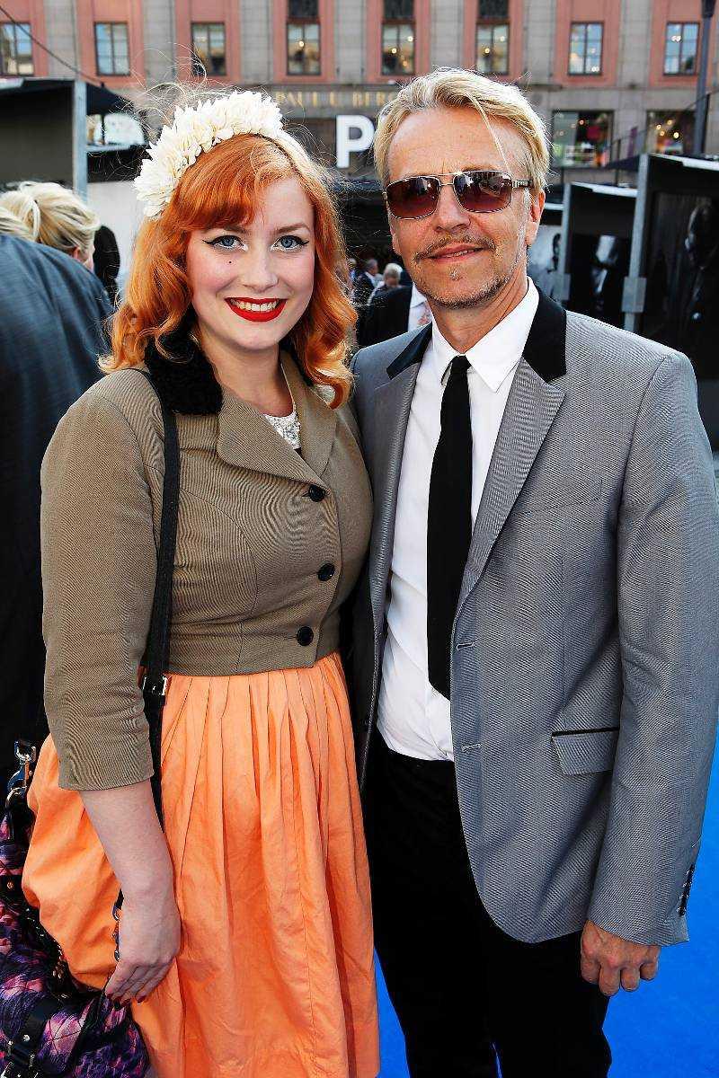 Ernst Billgren och dottern Elsa Billgren – vintagebloggerska och tv-profil.