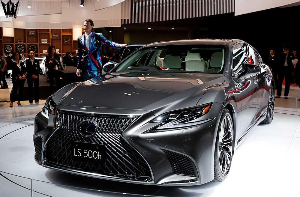 Lexus LS 500 presenterades tidigare i år i Genève.