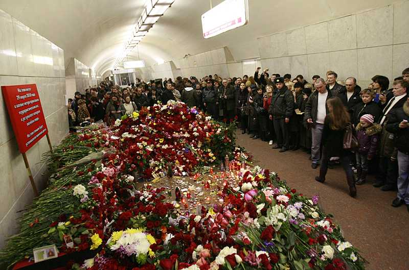 Attackerna i Moskvas tunnelbana krävde 39 människors liv.