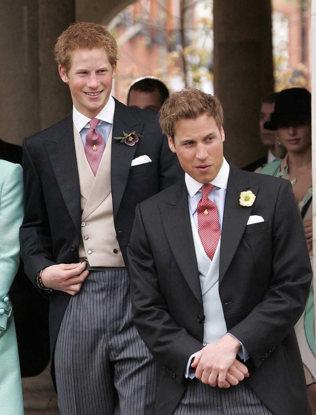 Prinsarna Harry och William har lyckats hålla sig i skinnet den senaste tiden.