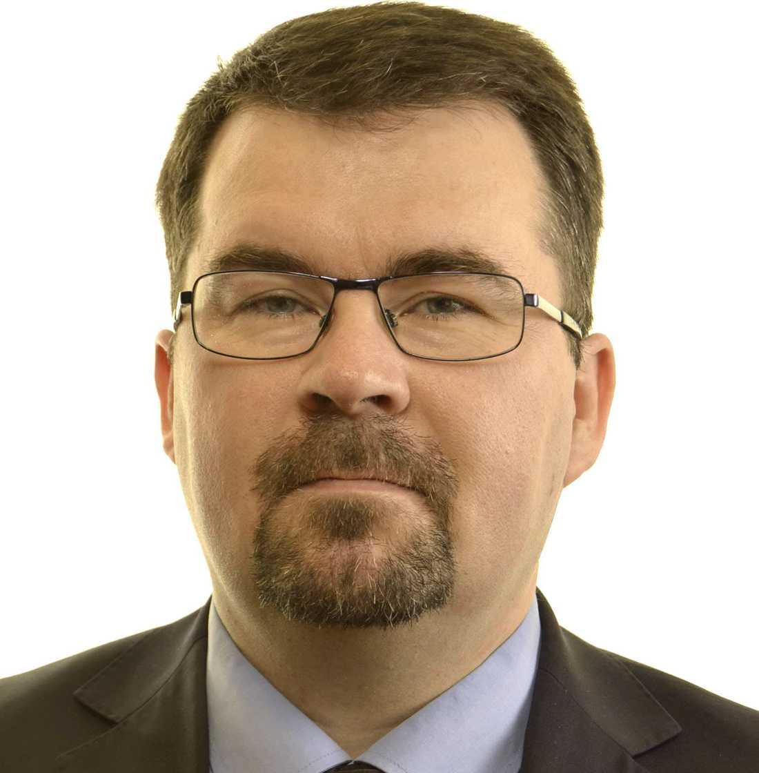 Joakim Larsson, SD-ordförande i Tierp