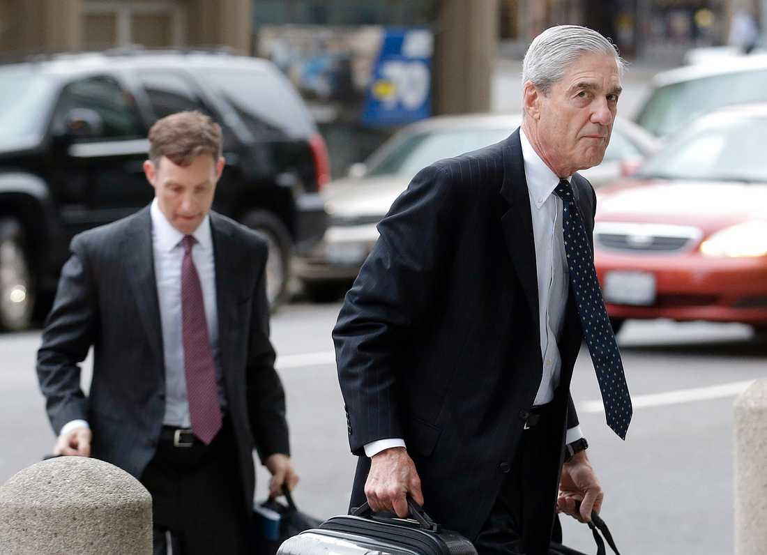 Särskilde åklagaren Robert Mueller.