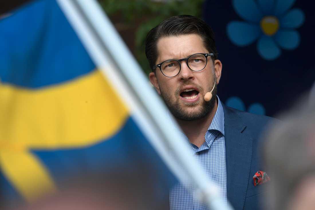 Jimmie Åkesson, Sverigedemokraternas partiledare.