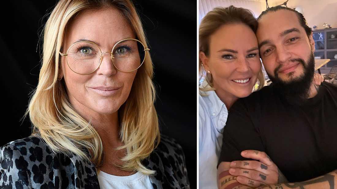 På sin blogg visar Magdalena Graaf upp nya pojkvännen - skådisen Louie Marti