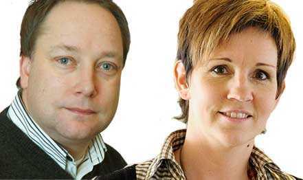 Jörgen Nilsson och Liselott Klinth.