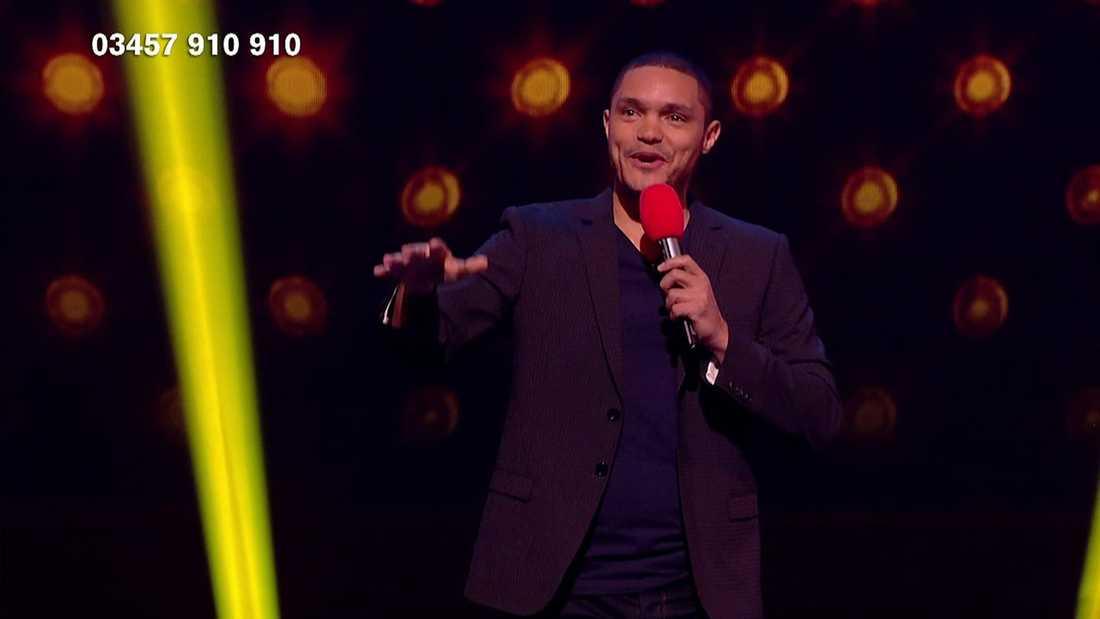 Trevor Noah i Comic Relief på BBC tidigare i år.
