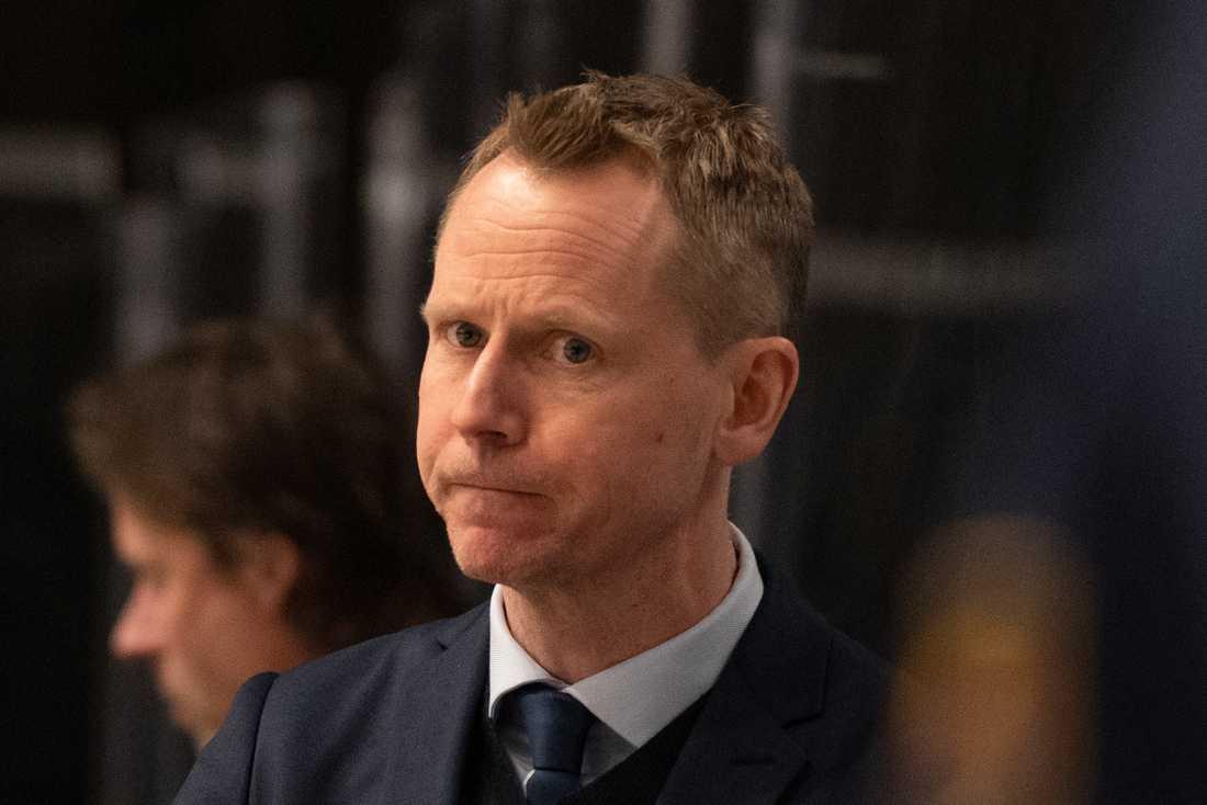 Djurgårdens tränare Robert Ohlsson är kritisk mot sportchefen Joakim Eriksson. Arkivbild.