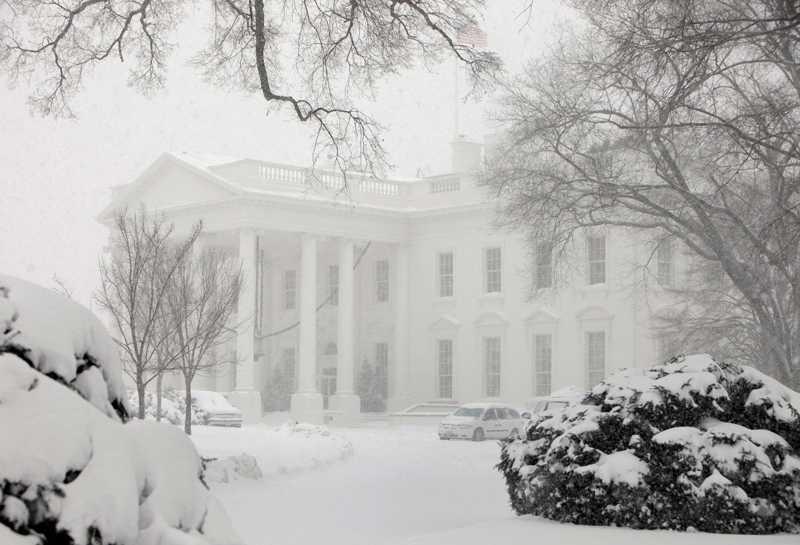 Vita huset har aldrig varit vitare.