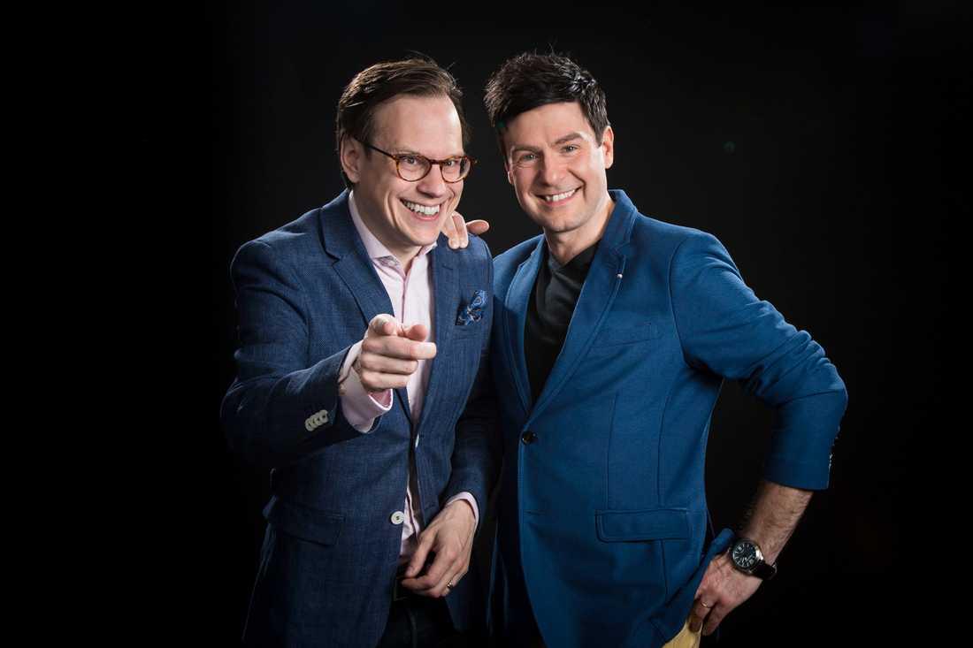 Thomas Deutgen och Thomas Lundin från P4 Dans.