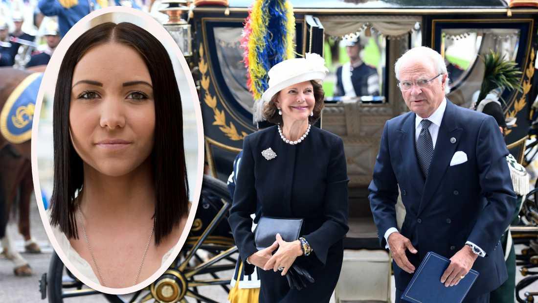 Att låta kung Carl Gustaf, innehavaren av landets högsta och mest odemokratiska ämbete, vara den som öppnar riksmötet är demokratiskt självmål, skriver Yasmine Larsson.