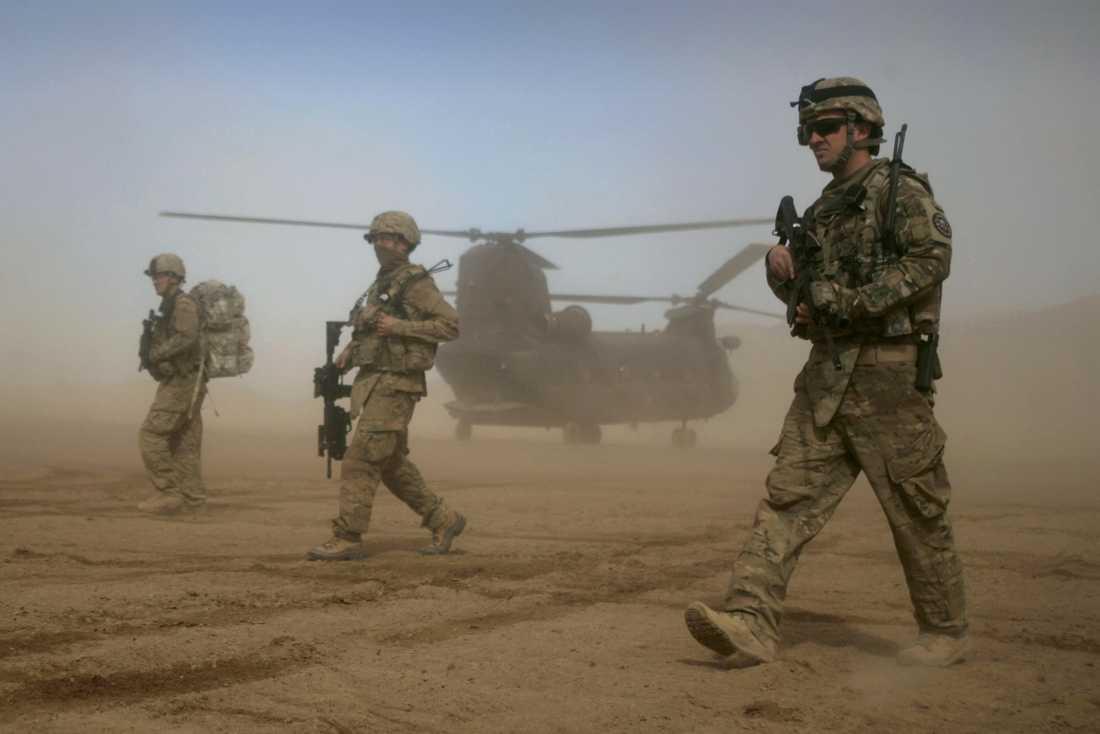 Amerikansk militär i Afghanistan.