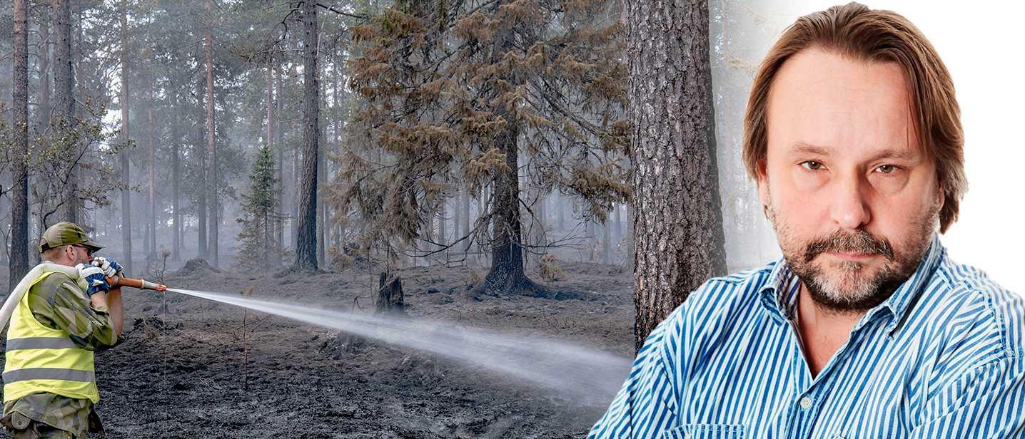 Mindre skopande flygplan stärker nu skogsbrandsberedskapen