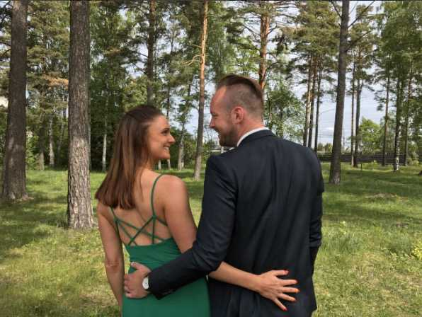 Sofia och nya kärleken Kristoffer Hindhammar.