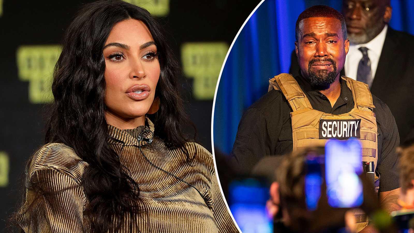"""Kim Kardashian talar ut om Kanyes sjukdom: """"Ber om medkänsla och empati"""""""