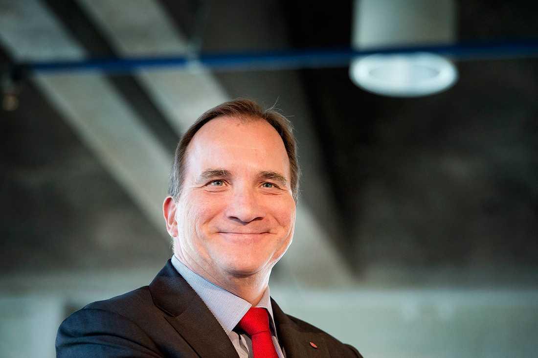 Statsminister Stefan Löfven (S), 57