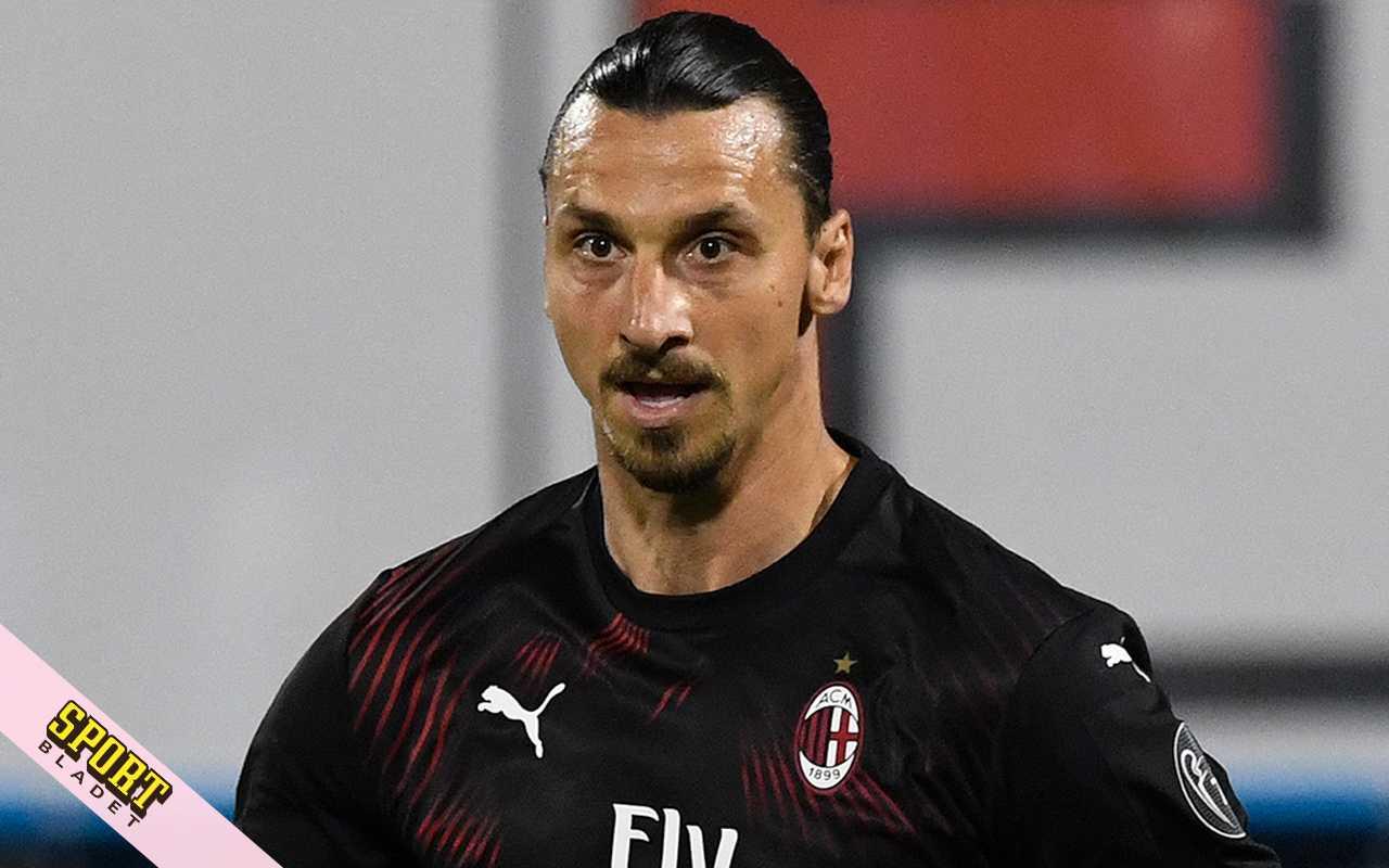 Zlatans besked till AC Milans fans om framtiden