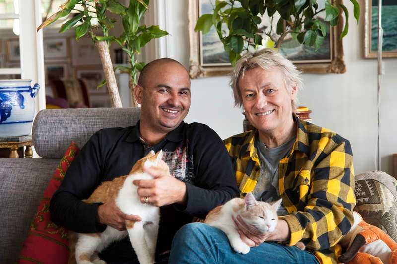 Manoel Marques Lerin och Lars Lerin.