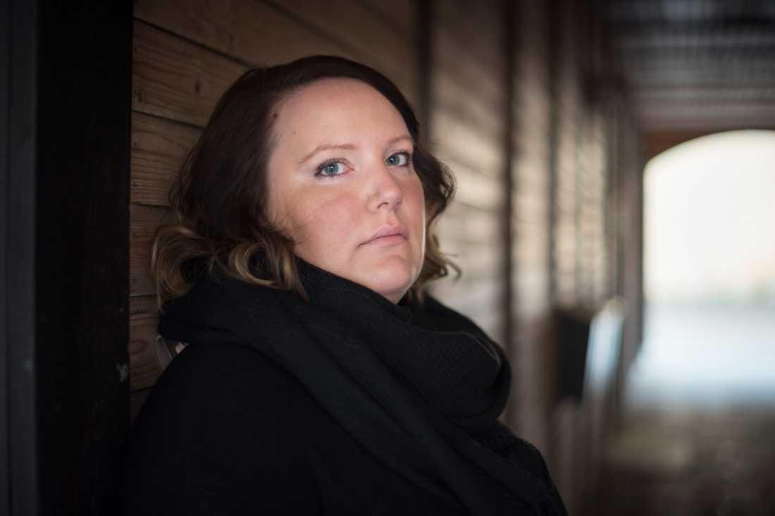 Sara Persson vill själv arbeta med att hjälpa tjejer som utsatts för trafficking.
