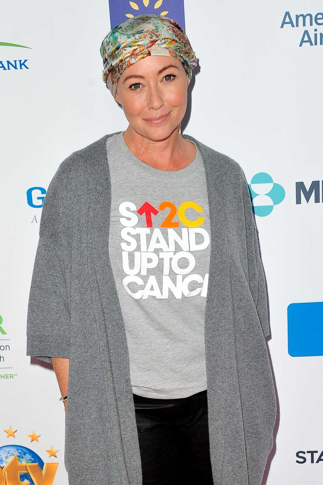 Shannen Dohertys elakartade cancer är tillbaka.