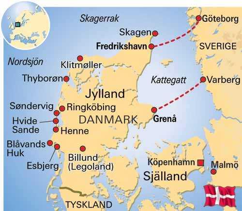 Karta Sodra Danmark.Jisses Jylland Aftonbladet