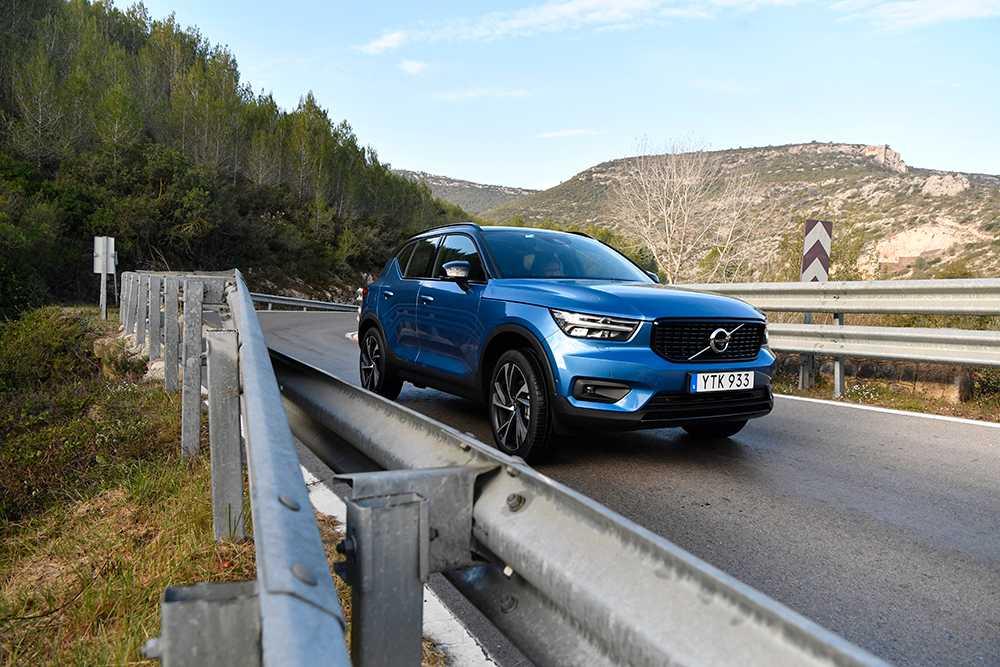 Volvo XC40 är en av sju finalister.