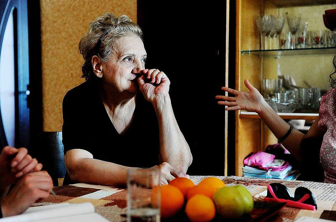 """""""Ingen vill ta ansvar"""" säger 68-åriga Tatyana som tvingats flytta."""