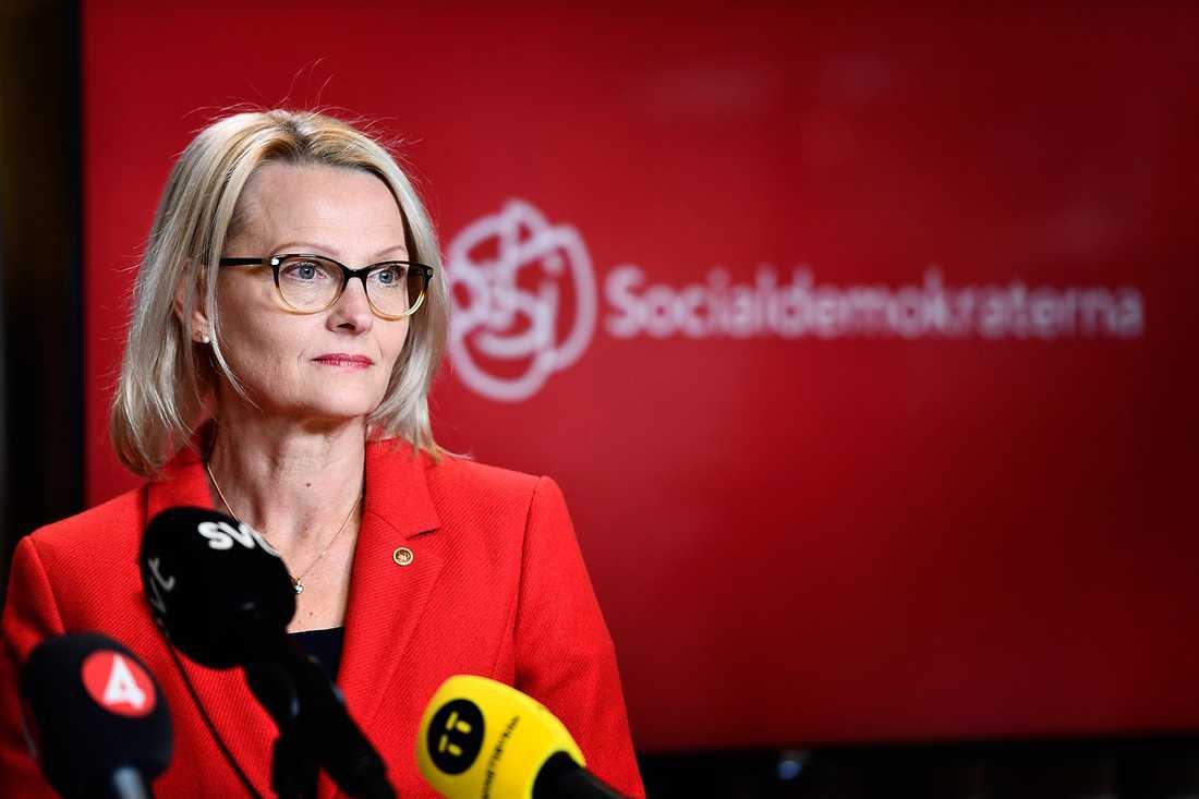 Heléne Fritzon (S) slutar som migrationsminister.