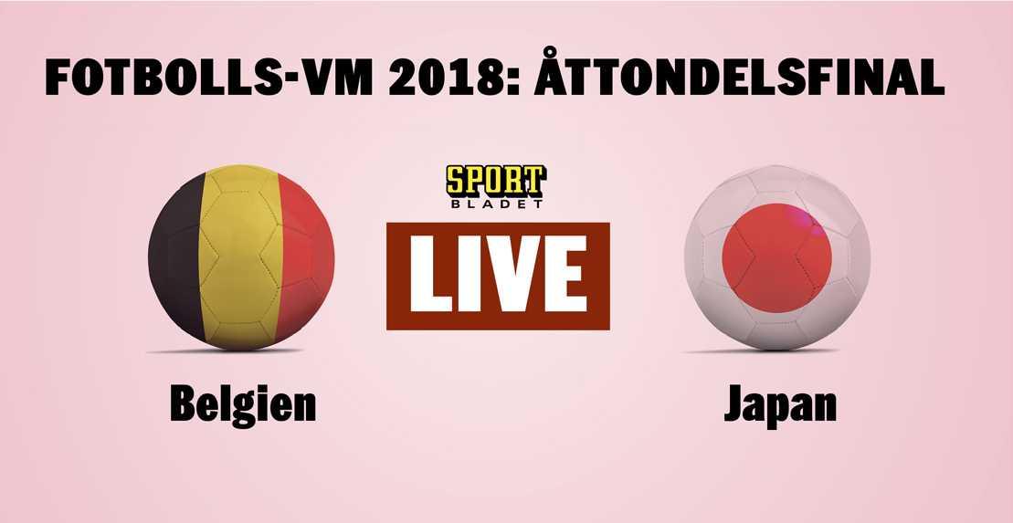 Japan Belgien Live