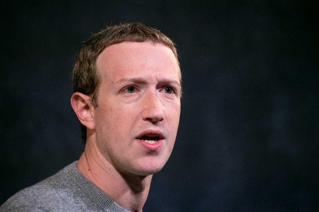 Facebooks vd och grundare Mark Zuckerberg. Arkivbild.