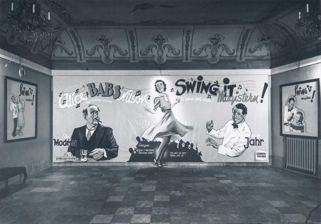 """Swing it Magistern"" med bl.a. Alice Babs 1940"
