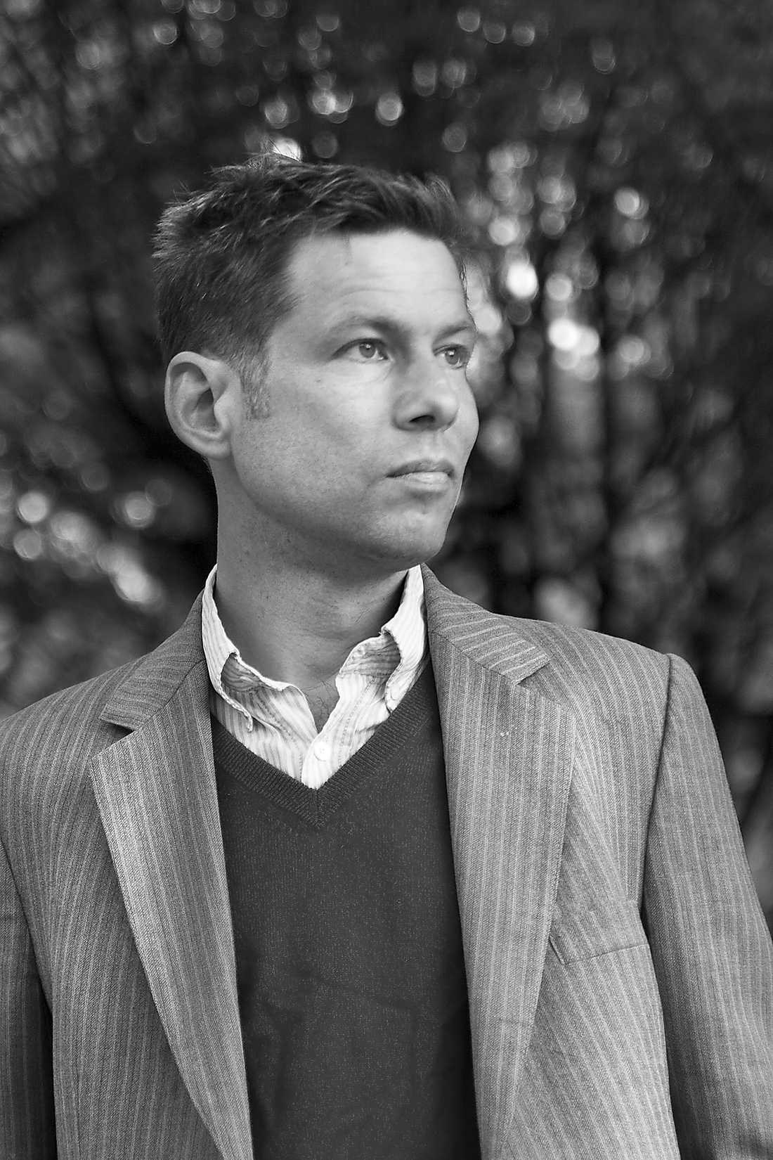 Niklas Orrenius, journalist och författare.
