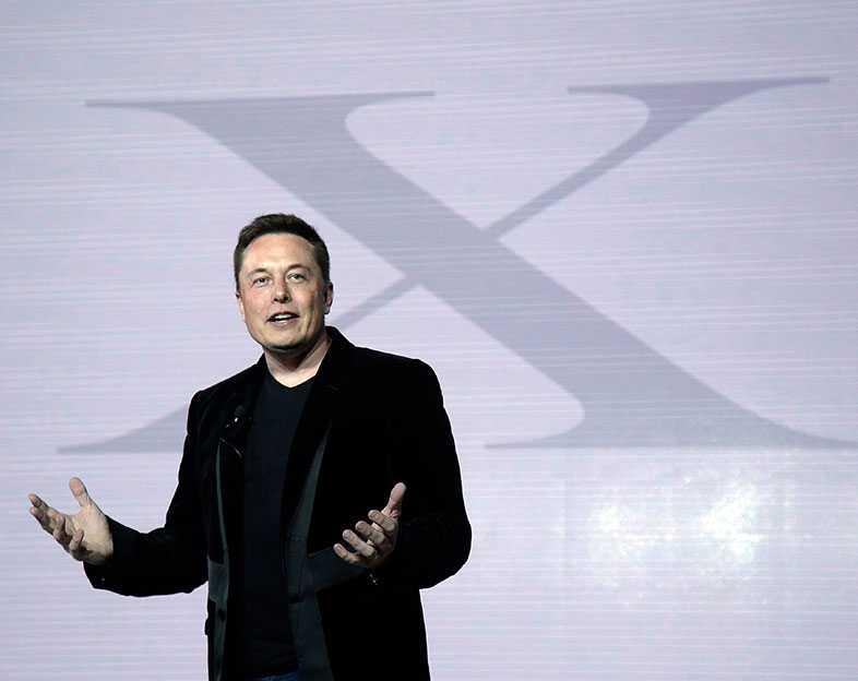 Teslas grundare och chef – Elon Musk