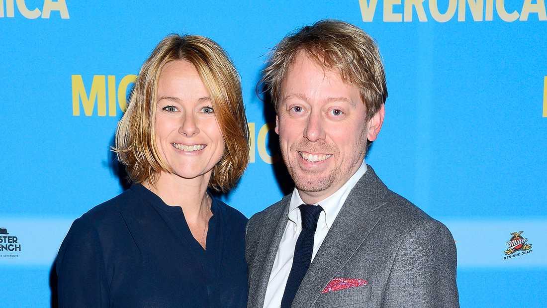 Peter och Anna Settman skilde sig i fjol.