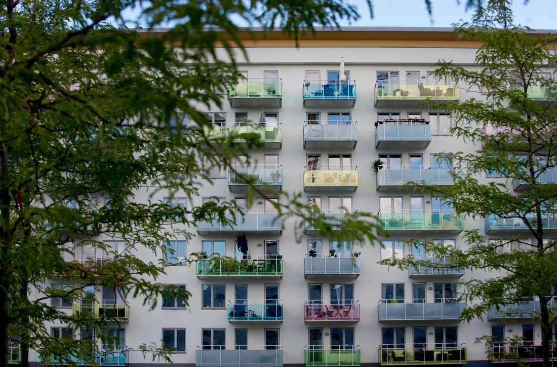 Lägenheter i Liljeholmen.