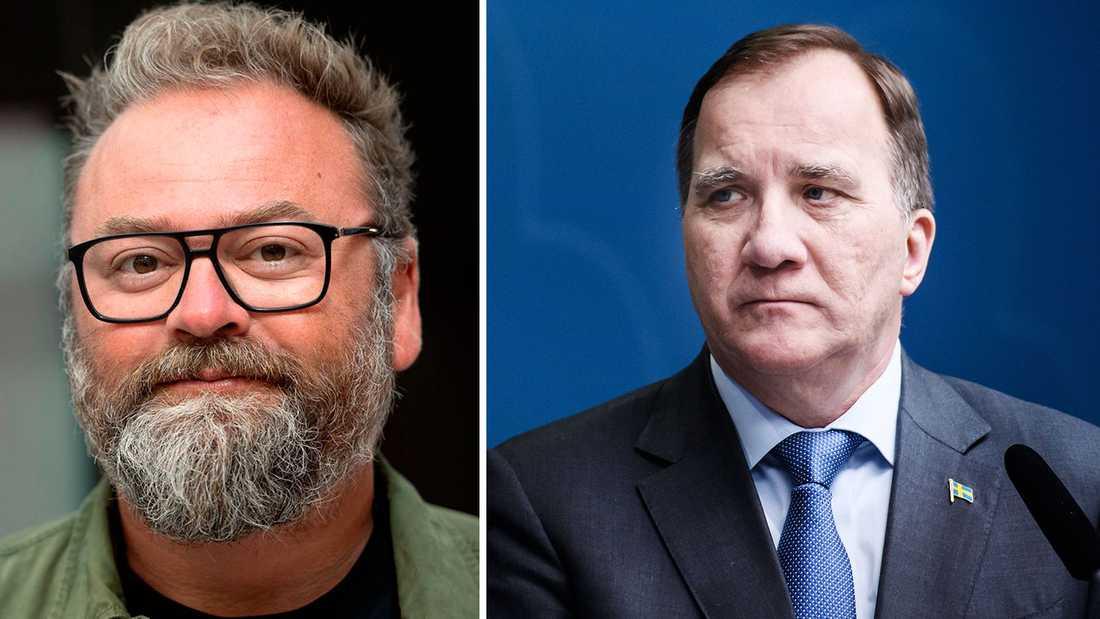 Statsminister Stefan Löfven kommenterade Adam Alsings död under torsdagens presskonferens.