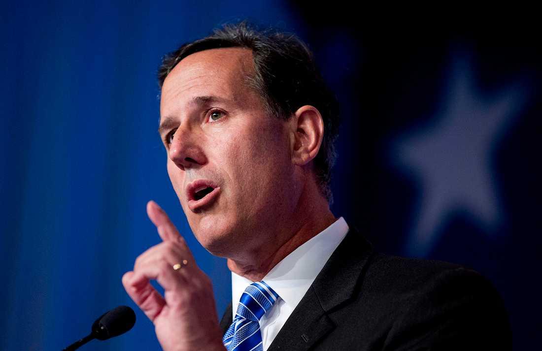 Rick Santorum, 56, ex-senator, Pennsylvania.