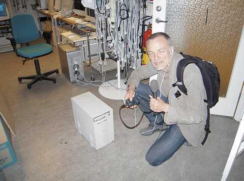Den server som användes när Aftonbladet.se startades i augusti 1994. Nån sorts gammal mac.